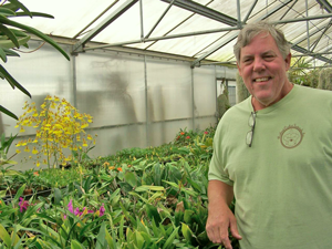 photo of Alan Koch of Gold Country orchids