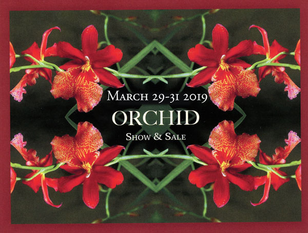 2019 GROS Orchid Show Discount Card